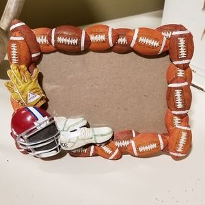 Ceramic 3D Football Frame